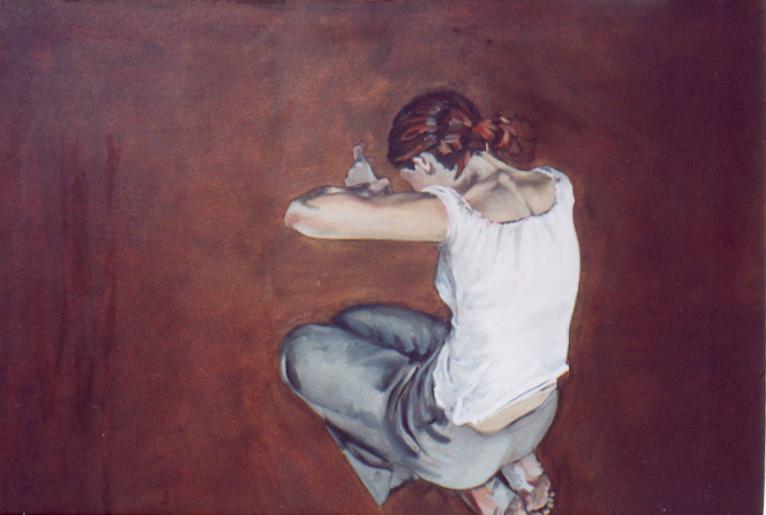 Doing, kneeling